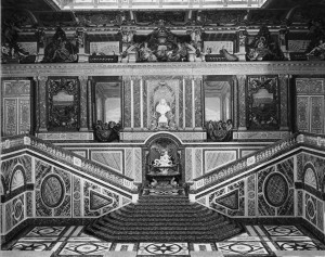 François d'Orsay, Grand Staircase, 1674-78, Château de Versailles, destroyed in 1752.