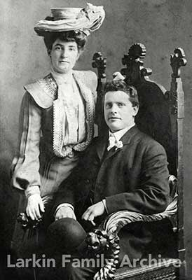 Michael Larkin and Elizabeth Fegan, San Francisco, 1904