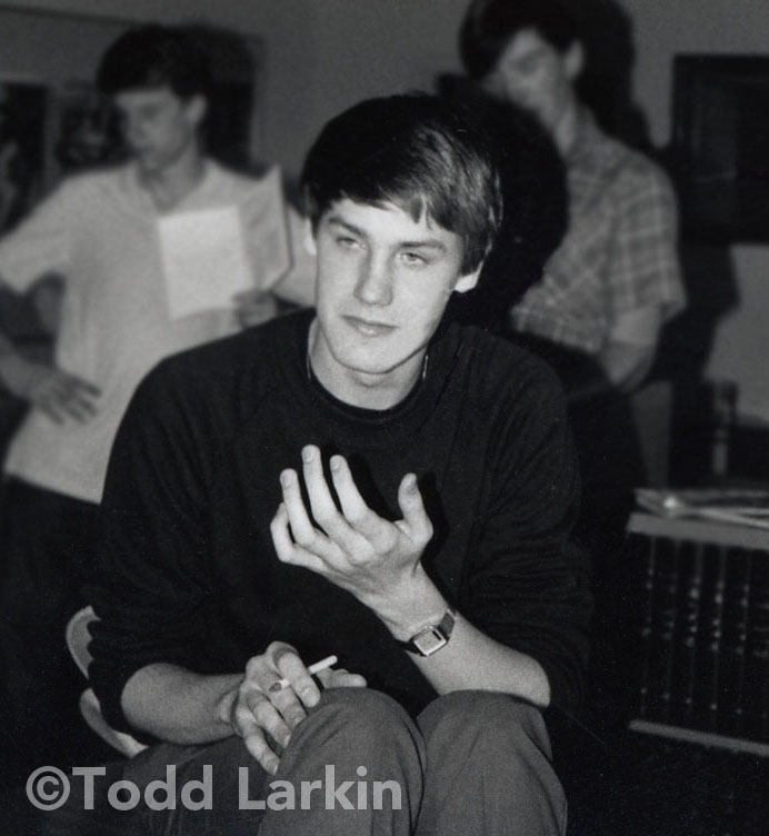 ToddLarkin at Marello High, 1984