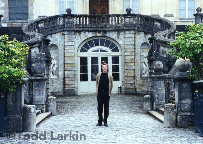 ToddLarkin at the Château de Fontainebleau, 2002