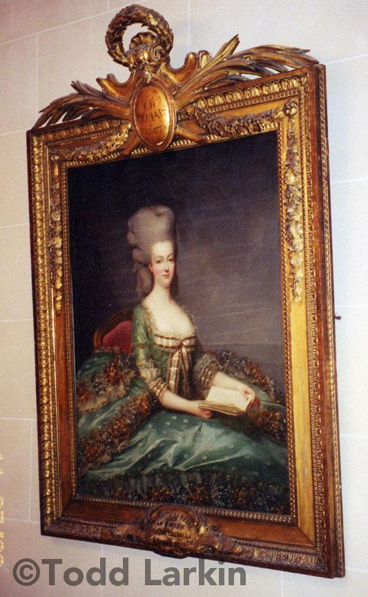"""François Hubert Drouais, Marie-Antoinette """"au Livre,"""" 1774-75, Hotel Bristol, Paris"""