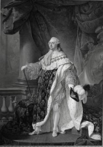 Antoine-François Callet, Louis XVI in Robes of State, ca. 1789, Château de Versailles.