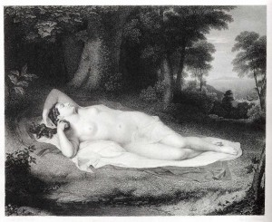 John Vanderlyn, Ariadne Asleep on the Island of Naxos, 1805-12