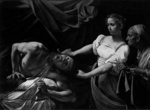 Michelangelo Merisi da Caravaggio, Judith Beheading Holofernes (1598-99).