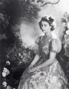 Cecil Beaton, Princess Elizabeth, March 1945.