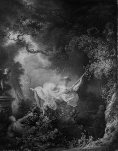 Jean-Honoré Fragonard, The Hazards of the Swing, 1767.