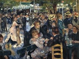Renoir's La Moulin de la Galette